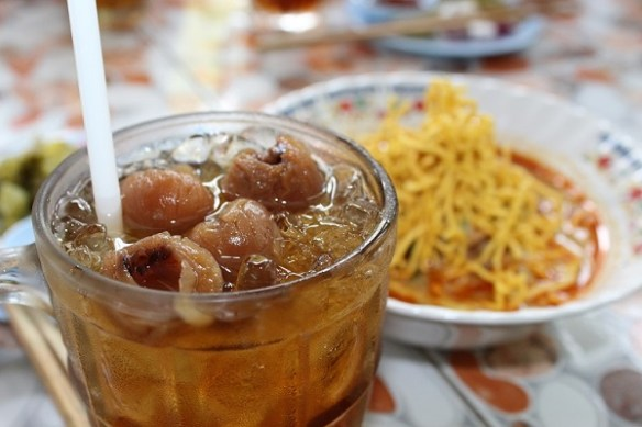 longan juice, Chiang Mai sweets