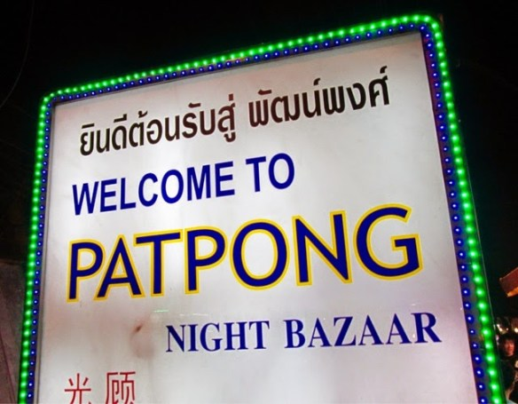 popular Bangkok sights, Patpong