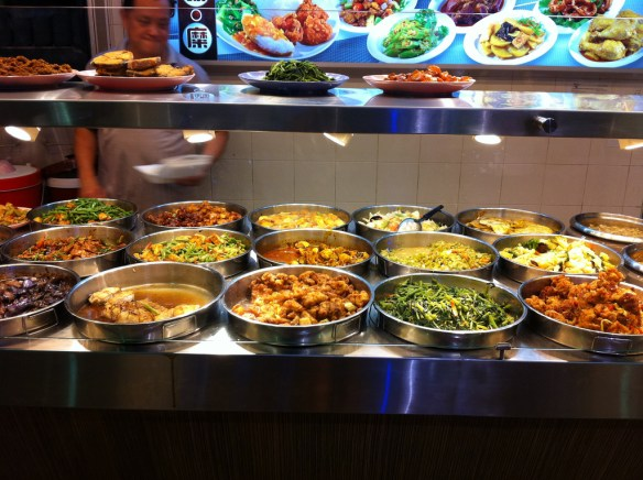 buffet, Singapore food guide