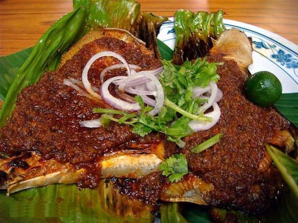 sambal stingray, unique Singapore food