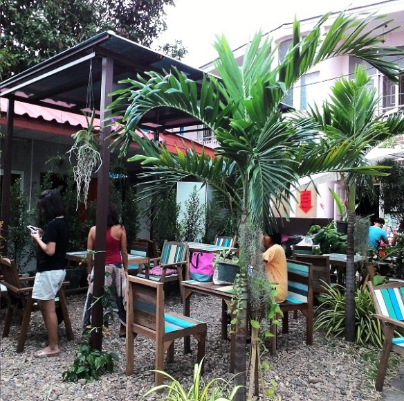 24 hours in Chiang Mai, hostel