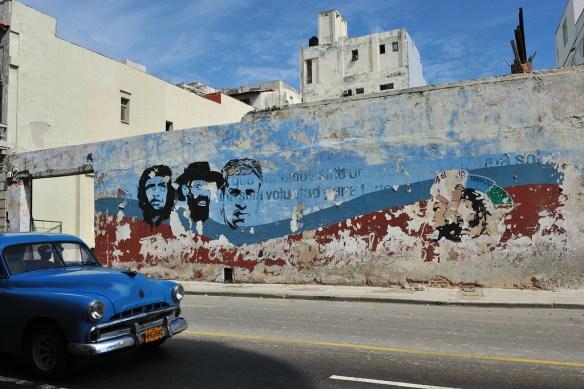 Cuban culture mural