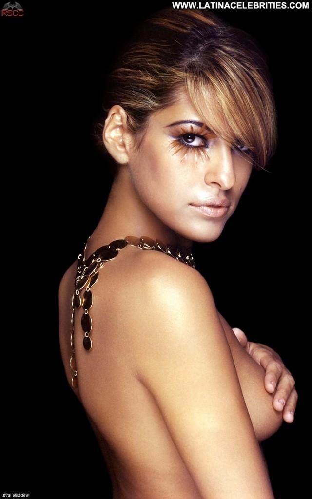 Eva Mendes Miscellaneous Gorgeous Nice Medium Tits Sensual Brunette
