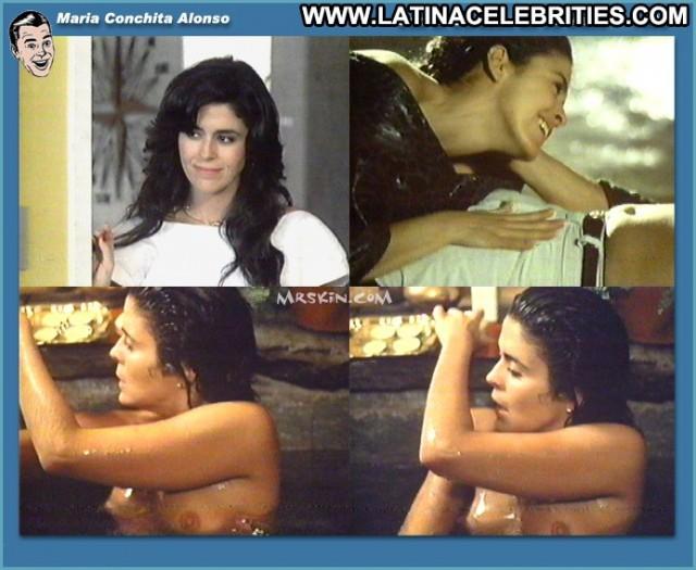 Maria Conchita Alonso Con El Corazon En La Mano Brunette Medium Tits