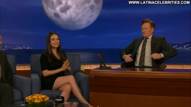 Mila Kunis Conan Sultry Beautiful Brunette Medium Tits Celebrity