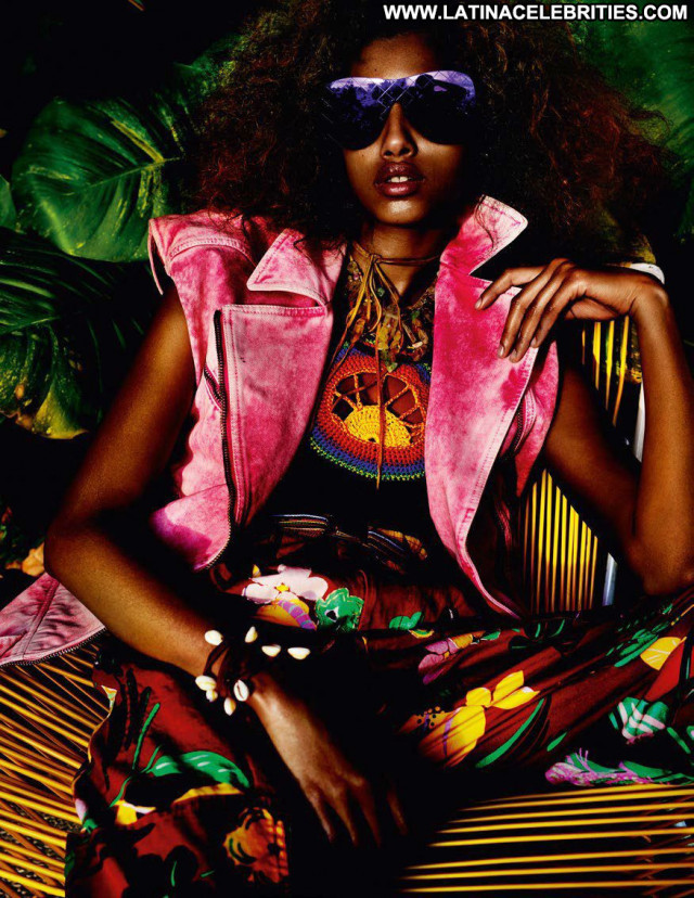 Imaan Hammam Vogue Paris Fashion Model Posing Hot Beautiful Dutch