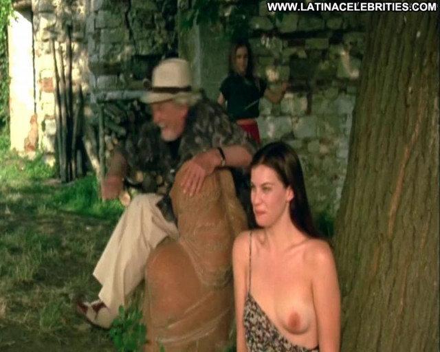 Liv Tyler Stealing Beauty Bra Beautiful Bar Toples Pants Tit Out