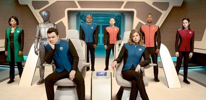 The Orville! Get sorta, kinda, maybe, vaguely interested!