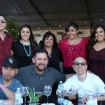 It's always a great time with family & friends, Tina Cartagena (rear center) KUVO Senior Vice President of Radio and New Media