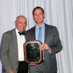 Hans Meyer (right) presented his award by Mike Sawaua, The Sawaya Law Firm