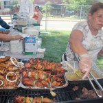 The was food from throughout Latin America to satisfy anyone tastes