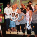 Chicano Music Hall of Fame inductee KUVO's Pocho Joe with his family