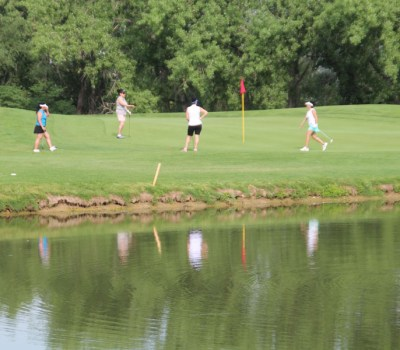 The charity event was held at the Greg Mastriona Courses at Hyland Hills, 93rd & Sheridan.