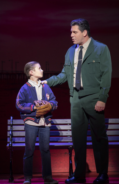 Frankie Leoni (Young C) and Richard H. Blake (Lorenzo) Photo: Joan Marcus.jpg