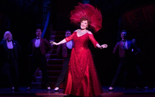 Betty Buckley as Dolly Levi. Photo by Adam Lundeen Courtesy of the Denver Center for the Performing Arts