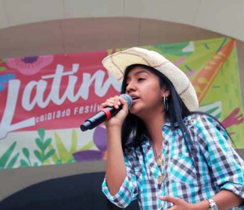 Raquel Garcia showed off her amazing voice with Mexican and American renditions