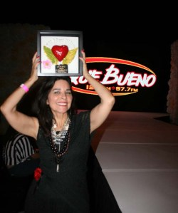 Designer, Mona Lucero, received a special recognition as a pioneer of Denver's Latin Fashion scene.