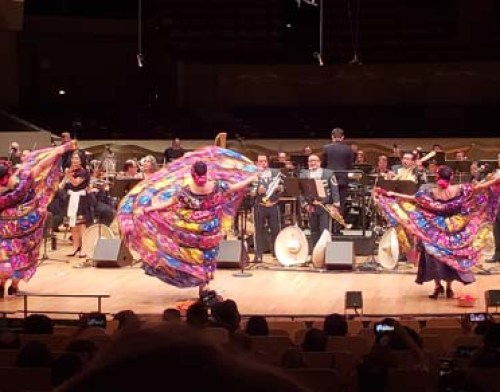 Latin Beats with the Colorado Symphony Orchestra presented by the Mexican Cultural Center. Photo by Latin Life Denver Media