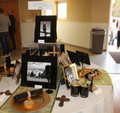 Pauline Rivera's Churches of norther New Mexico theme table was facinating