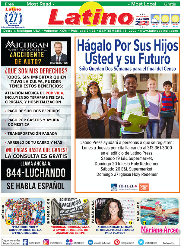 Latino press cover september 17