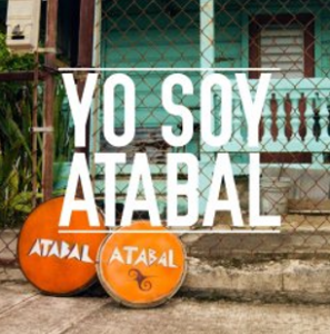 """Yo Soy Atabal"" photo with Panderos de Plena"