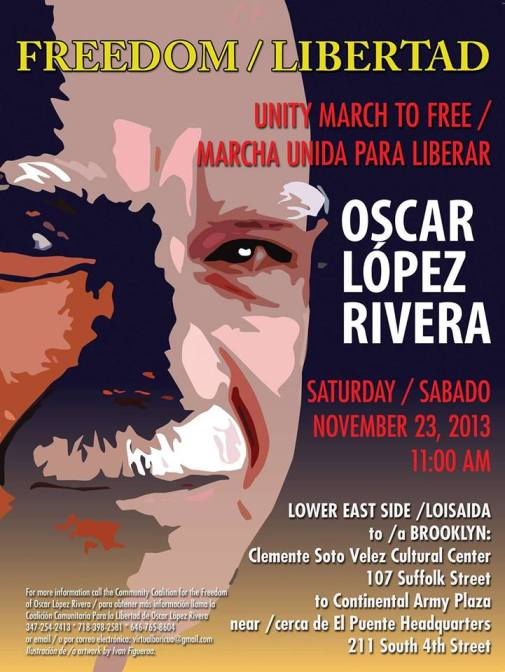 Oscar Lopez March Nov 23 2013