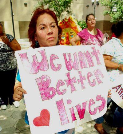 farmworker women_we want rights