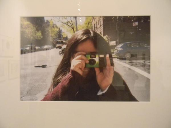 Luz Aguirre took a picture of her daughter Eve, taking a picture of her
