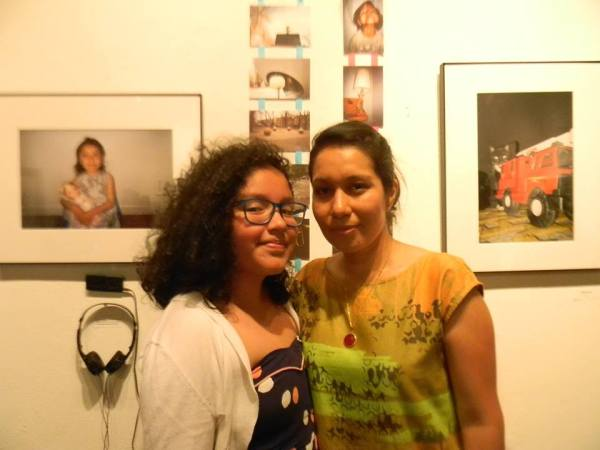 Rosali and her mother Martha Ponce.