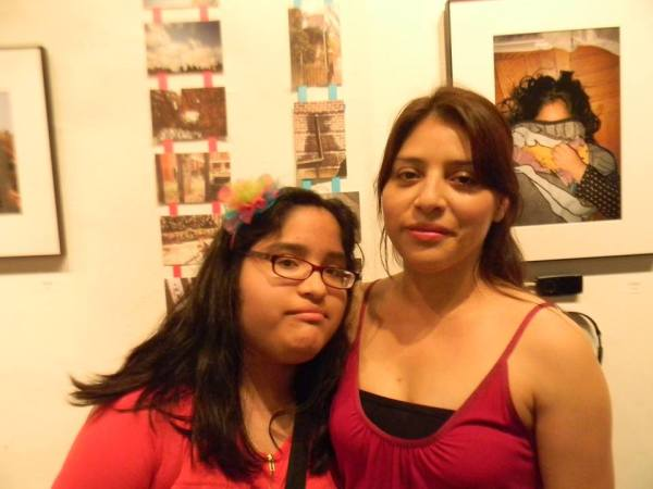 Luz Aguirre and her daughter Eve Valle.