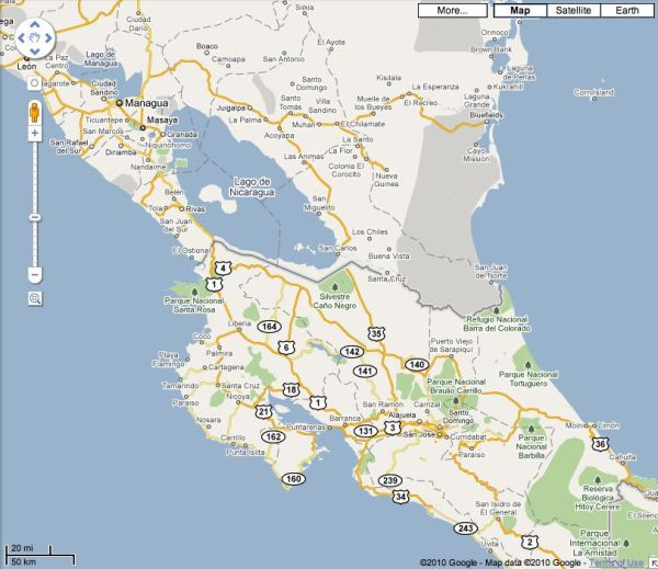 Costa-Rica-Nicaragua-Border