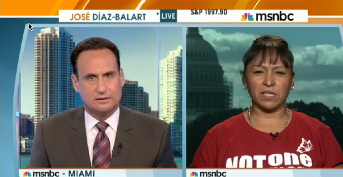 José Díaz-Balart Conducts Bilingual Interview on MSNBC, Causing Laura Ingraham to Freak the F Out