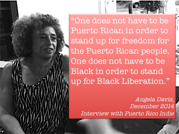Angela Davis: Struggle for Free Puerto Rico Always Been Part of My Activism