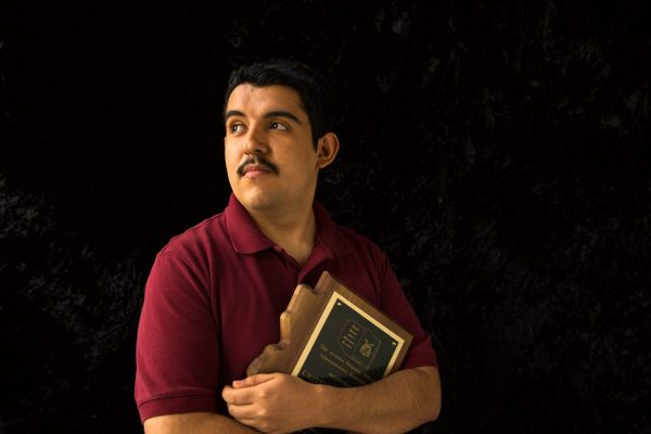 Cristian Arcega in 2013 (Photo by Richard Schultz. Courtesy of 50 Eggs, Inc.)
