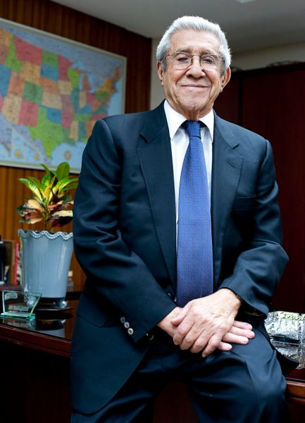 Miguel Facussé, president of Dinant Corporation (Source: Flickr)