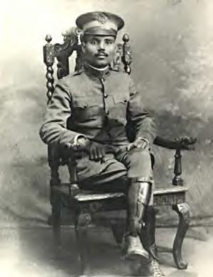 1st Lieutenant Pedro Albizu Campos of the U.S. Army's 375th Infantry Regiment (Public Domain)