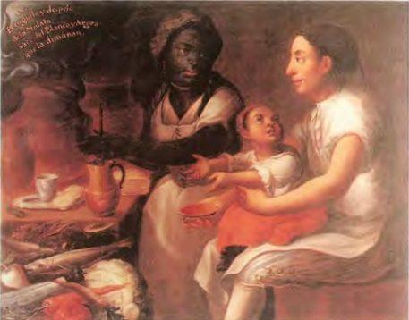 'La Mulatta' by 18th-century Mexican painter José Joaquín Magón (Wikimedia)