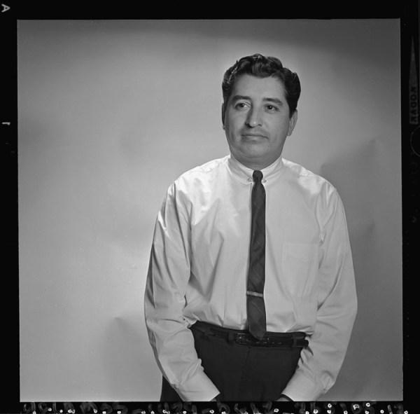 Mexican American journalist Ruben Salazar c.1970 (Credit: cindy/Flickr)