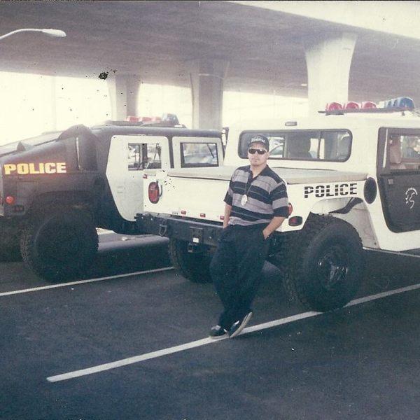 Alex Salazar as a narc