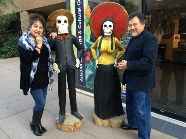 Linda Torres and Jose Andres Giron (Credit: Steven Totten)