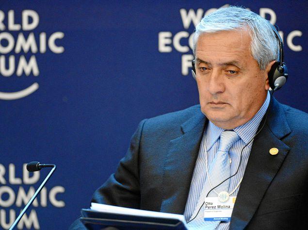 Otto Peréz Molina, former president of Guatemala