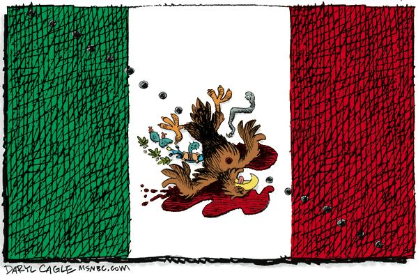Daryl Cagle's controversial 2010 cartoon