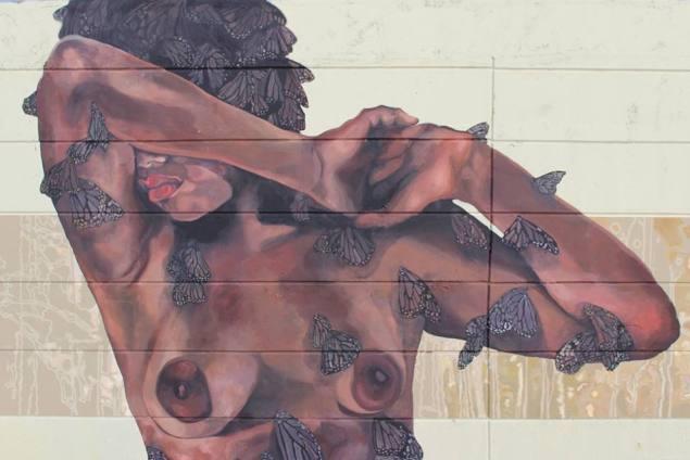 Moriviví mural in San Juan, Puerto Rico (Moriviví)