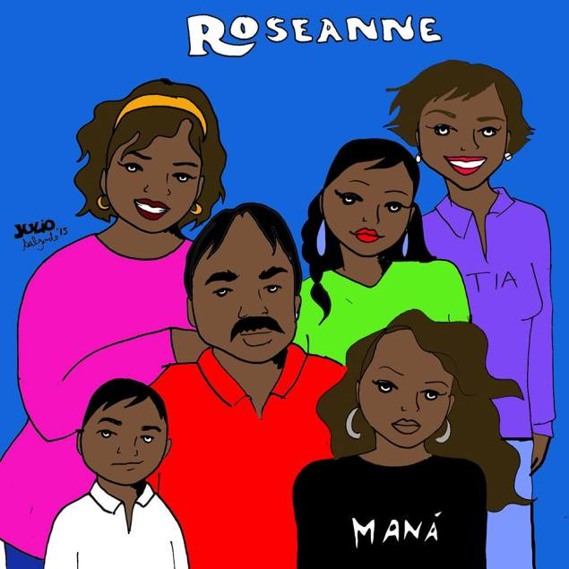 'Roseanne' staring a Mexican family living in Los Angeles suburb (Julio Salgado)