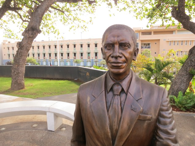Statue of Pres. Barack Obama in San Juan, Puerto Rico (Paul Sableman/Flickr)