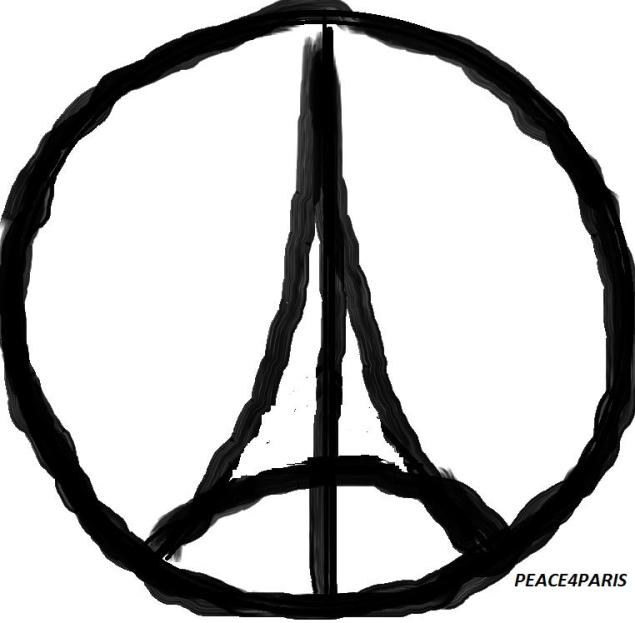 A popular meme created after last week's Paris attacks (Alain Van den Hende/Flickr)
