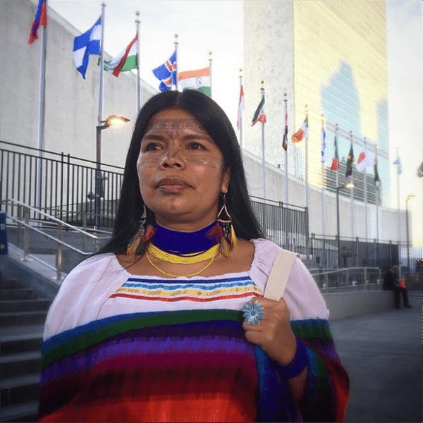 Patricia Gualinga UN