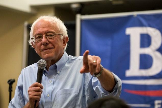 Bernie Sanders, Vermont senator and Democratic presidential candidate (Phil Roeder/Flickr)