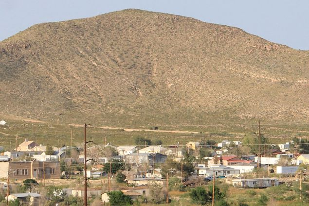 Sierra Blanca, Texas (Ricraider/Wikimedia Commons)