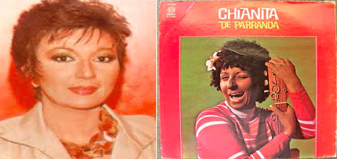 Angela Mayer a Puerto Rican actress, comedian, and producer who dresses in blackface and her character Chianita La Negra.
